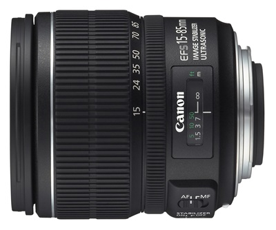Canon EF-S 15-85mm/3,5-5,6 IS USM
