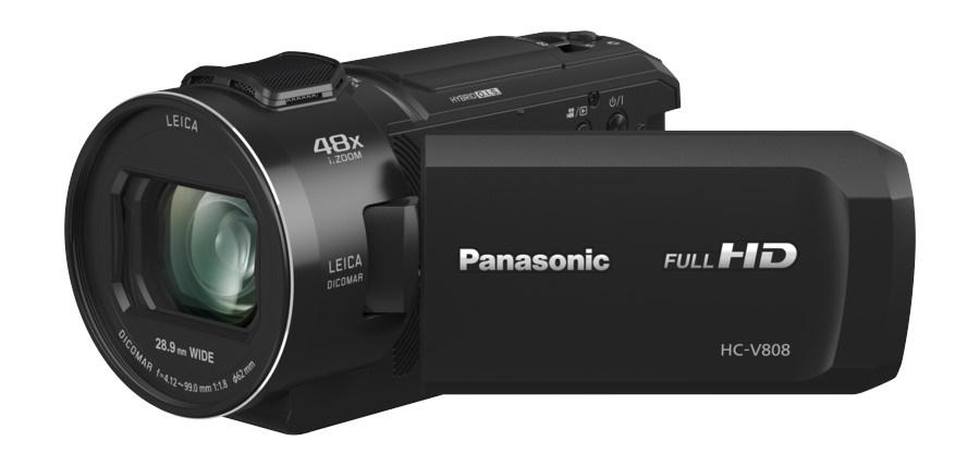 HC-V808EG-K Camcorder