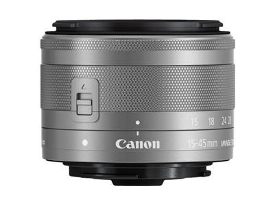 Canon EF-M 15-45mm/3,5-6,3 IS STM silber