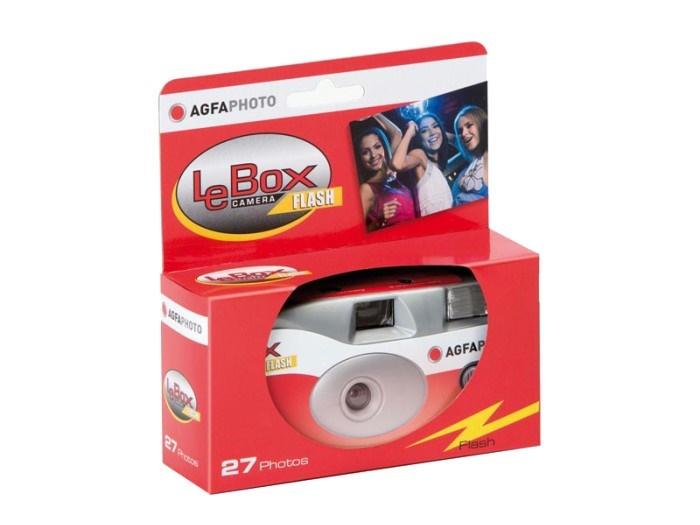 LeBox Flash 400 ASA, 27 Aufnahmen, Einwegkamera