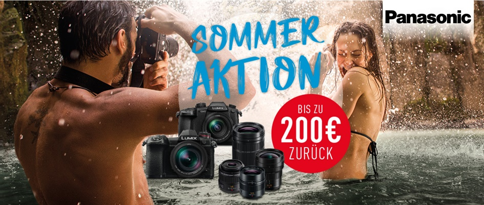 Panasonic Sommeraktion 2019