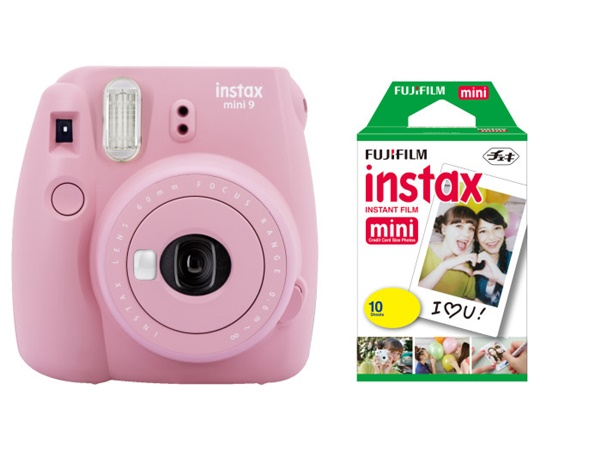 Fujifilm Instax Mini 9 Blush Rose Film Set