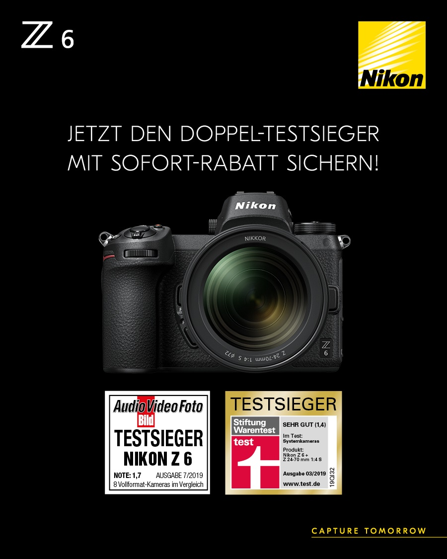 Nikon Sofortrabatt-Aktion 2019
