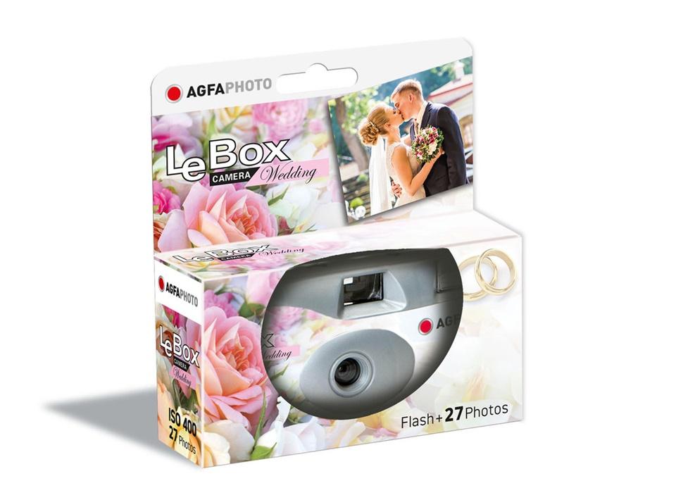 LeBox Wedding Flash 400, 27 Aufnahmen, Einwegkamera