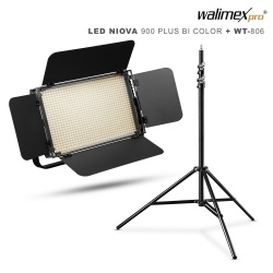 Walimex pro LED Niova 900 Plus Bi Color + WT-806