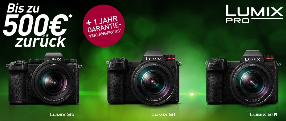 Panasonic Lumix S Aktionswochen